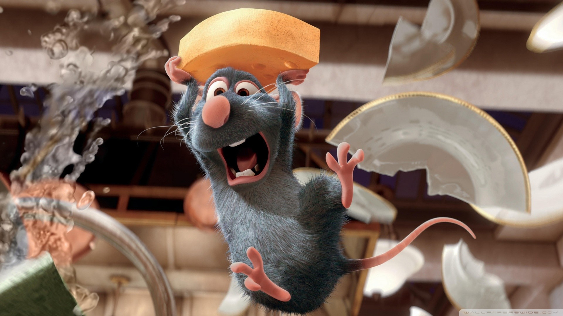 Cartoons_Rats_with_a_piece_of_cheese__cartoon_Ratatouille_100759_