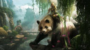 fantasy-art-chinese-panda-mountain-kungfu-concept