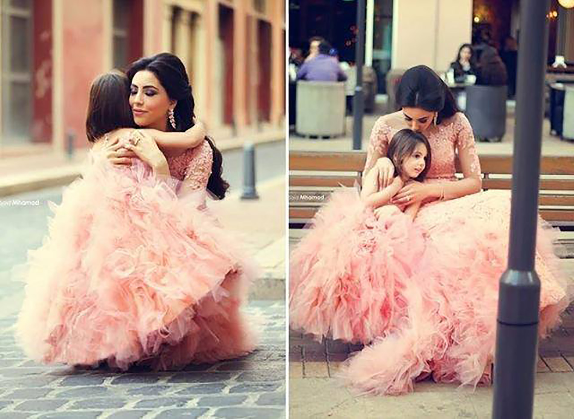 Like-Mother-Like-Daughter-Bride-Flower-Girl-Little-Bride-Sadek-Majed-BellaNaija